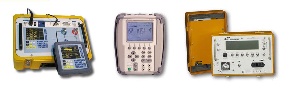 Barfield DPS 450 Air Data Test Set, Aeroflex IFR 6000 TCAS/XPDR/DME/ADSB/TIS, Tel Instrument TR-220 TCAS/XPDR/DME/ADSB/TIS